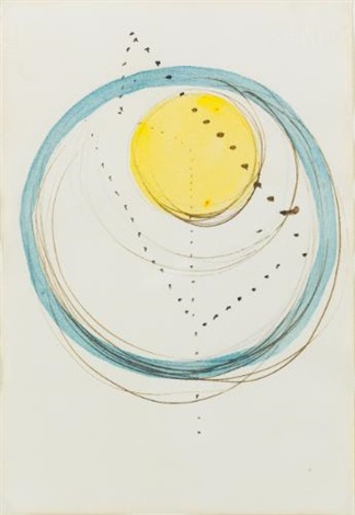 concetto spaziale (tre bozzetti) by lucio fontana