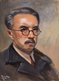 自画像 (self-portrait) by qin xuanfu