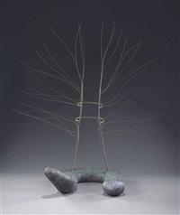 spider dress and serpent (2 works) by isamu noguchi
