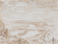 rouen from st. catherine's hill by john ruskin