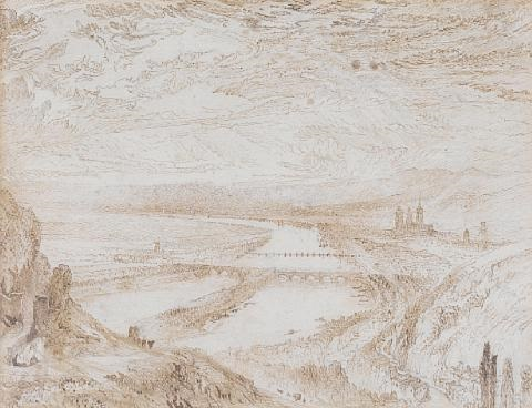rouen from st catherines hill by john ruskin