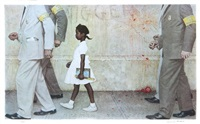 the problems we all live with by norman rockwell