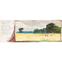 landscape studies (set of 37) by joseph langsdale pickering