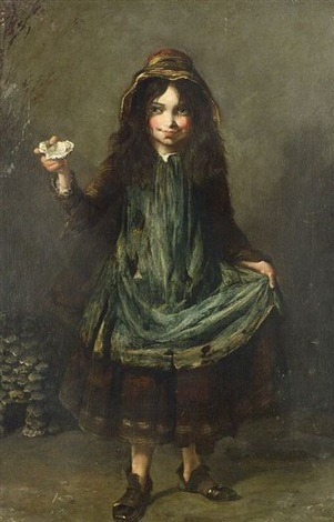 the young oyster seller by anglo-american school (19)