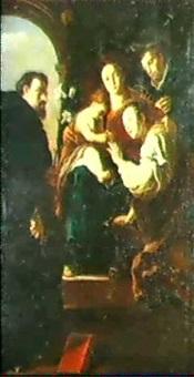 sposalizio mistico di santa caterina e i santi domenico   e pietro martire by filippo abbiati
