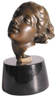 głowa tancerki by stanislaw jackowski