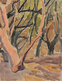 grands arbres by maurice le scouezec