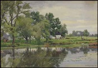 river scene by william brymner