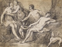 diana and endymion by frans floris the elder