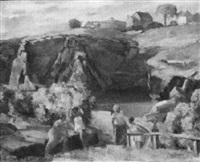 cape ann quarry by william bryant