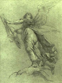 the archangel uriel by lambert-sigisbert (l'aine) adam