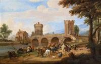 l'arrivée des marchands orientaux by mathys schoevaerdts