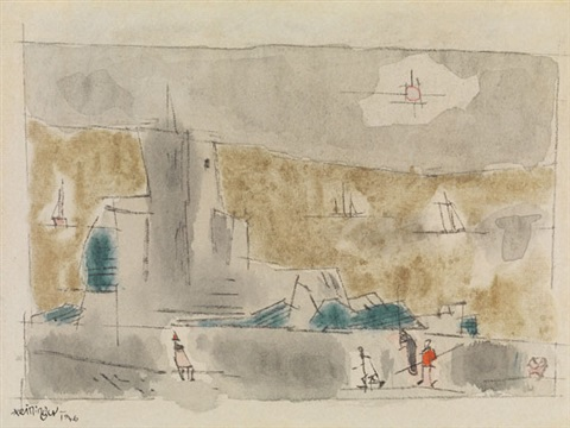 am meer (by the sea) by lyonel feininger