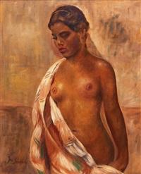 portrait de femme by josef cestmir svoboda