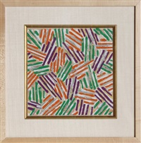 crosshatch by jasper johns