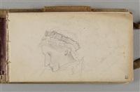 carnet de 1879-1881 (sketchbook w/c.50 works) by pierre bonnard