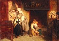famille bretonne dans un intérieur by alexandre antigna