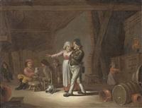 scena di osteria by egbert van heemskerck the elder