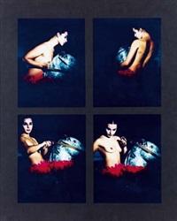 irena a cavallo (set of 4) by giorgia madiai