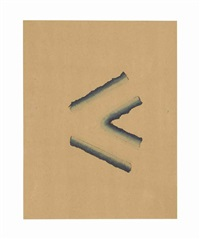river (a loose study) by richard tuttle