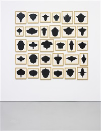 untitled (collection of 30 works) by allan mccollum
