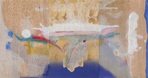 madame butterfly (in 3 parts) by helen frankenthaler