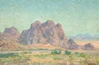 desert landscape by maurice braun