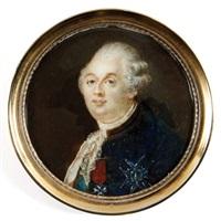 portrait du roi louis xvi en buste de trois-quarts by joseph boze