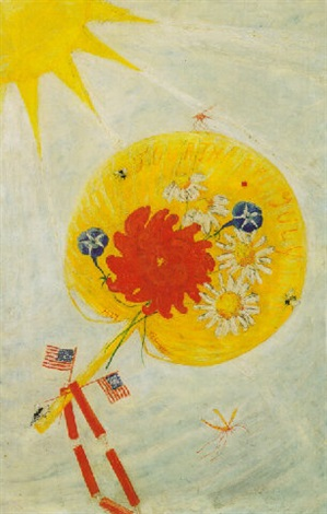 fourth of july no2 by florine stettheimer