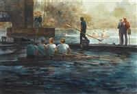 study #1; below the bridge by john gable