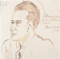 portraits de gérard birolleau (2 works) by max jacob