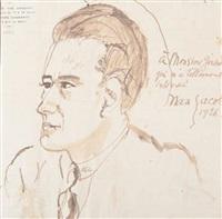 portraits de gérard birolleau (2 works) by max jacob