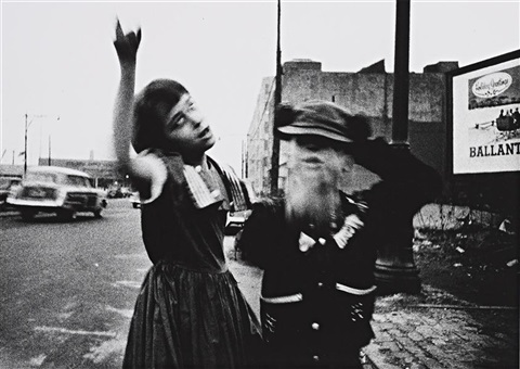 dance in brooklyn by william klein