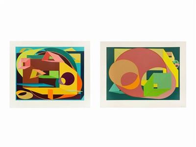artwork by al held