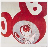 and then... red; and then... blue by takashi murakami