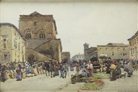 market morning, orvido by robert weir allan