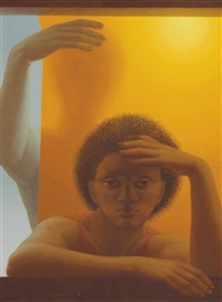 sibyl by george tooker