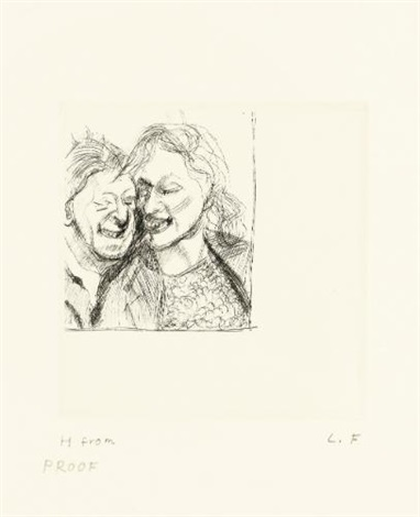 a couple by lucian freud