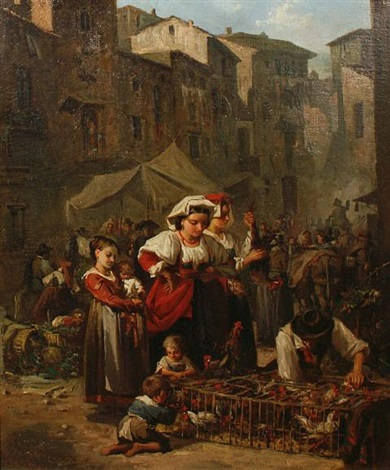 market day by francisco javier amerigo y aparici
