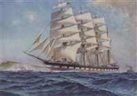 clipper off the south coast by william mcdowell
