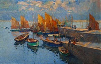 port breton by louis azema