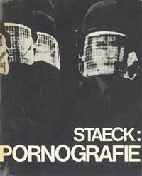 pornografie - pornography (bk w/286 works, folio) by klaus staeck