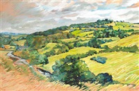 slane hill and river boyne by liam ó broin