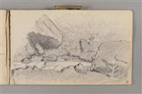 carnet du grand-lemps et du dauphiné (sketchbook w/c.46 works) by pierre bonnard