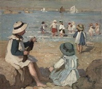 on the beach by garnet ruskin wolseley