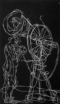 solo for bicycle by william kentridge