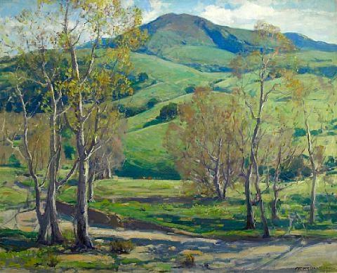 capistrano hills by arthur hill gilbert