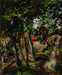 les grands arbres près du ruisseau by emeric (emeric vagh-weinmann)