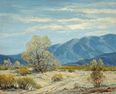 california desert by arthur hill gilbert