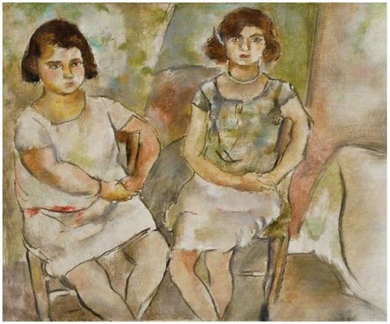 rosette et nana by jules pascin